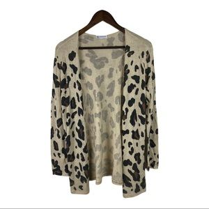 Cents of Style lightweight Leopard Print cardigan